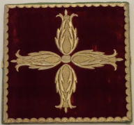 Red High Mass Set Vestments 5398
