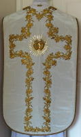 White Roman Vestment
