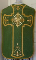 Green Roman Vestment