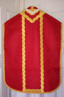 Roman Vestments Gold bullion wavy Braid