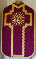 Purple French Latin Vestment