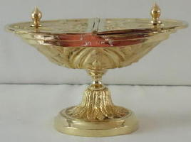 Brass Incense Boat