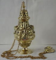 Brass Baroque design Thurible 6364